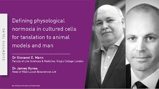 Webinar: Defining physiological normoxia in cultured cells for translation to animal models and man