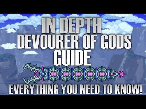 DEVOURER OF GODS IN DEPTH GUIDE (Terraria Calamity