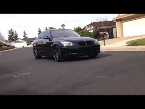 Bmw E60 on Rims - Wheels 20's
