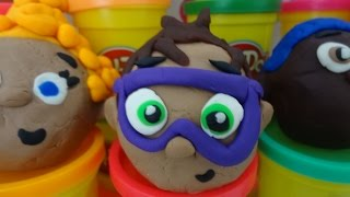 Nick Jr Bubble Guppies Play Doh Egg Toy Surprise Gil Molly