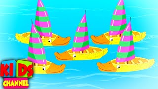 Five Little Ducks Nursery Rhymes And Kids Song | Car Cartoon Videos from Kids Channel