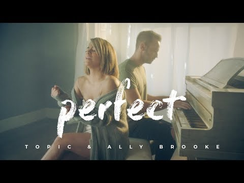 "Topic & Ally Brooke (Fifth Harmony) – ""Perfect"" [Official Single Cover]"