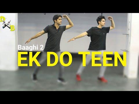 Ek Do teen - Dance Choreography | Vicky Dubey | DXB Dance Studio