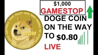 🐋AMC and GME Scalping doge, possibly 8 cents before 80 cents!! #DOGE #BTC #CRYPTO 🚀🚀 LIVE