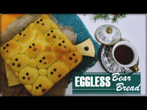 Video Eggless Bear Bread Anti Gagal | Roti Sobek Simple Tanpa Telur