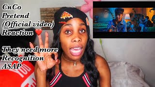 CNCO   Pretend (Official Video) Reaction