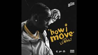 Flipp Dinero   How I Move Ft. Lil Baby [Instrumental] (Prod. Fabes VG)