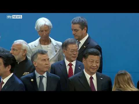 World leaders gather at the G20