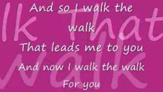Jordin Sparks - Walk the Walk LYRICS HQ