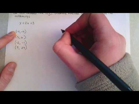 Solving Inequalities - Example Problem 1