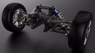 How a car suspension system works?