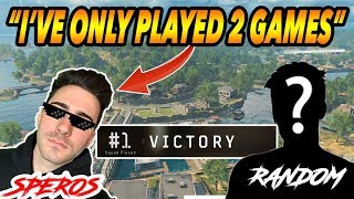CoD BLACKOUT RANDOM DUO- HE ALMOST FIGURED OUT i WAS TROLLiNG (CARRYiNG MY RANDOM)