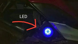 Install LED On Scooty Honda Dio | Modified Scooty