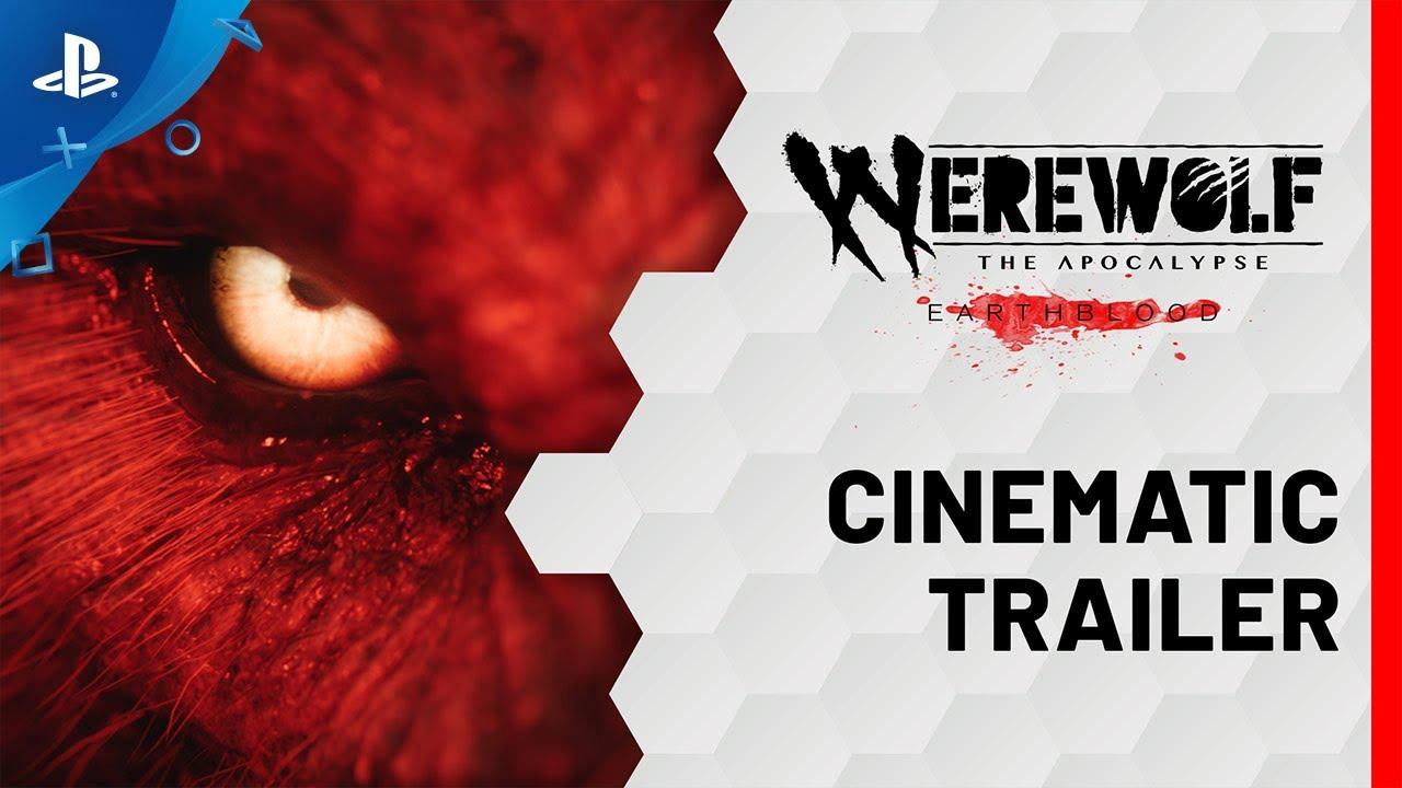 Кинематографический трейлер приключенческой игры Werewolf: The Apocalypse - Earthblood