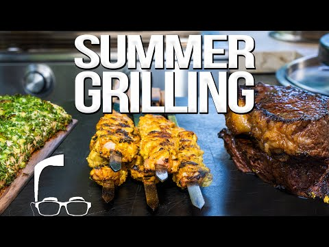 EASY SUMMER GRILLING RECIPES | SAM THE COOKING GUY 4K