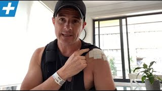 Shoulder Surgery - Post-op Diary - Day 2 | Tim Keeley | Physio REHAB