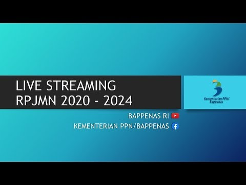 Live Musrenbangnas 2019