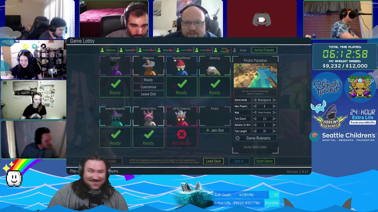 Sorta Over It, by Tim - 24hr Extra Life Fundraiser 2020 Part 2