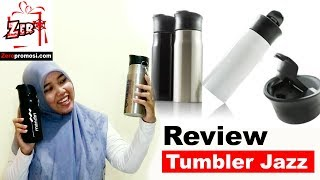 Review tumbler jazz keren banget modelnya loh