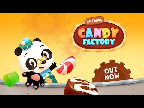 Vídeo do Dr. Panda Fábrica de Doces