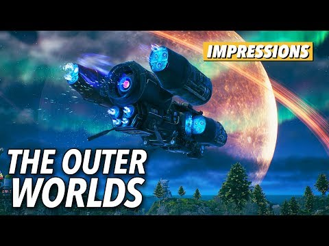 The Outer Worlds Is A Virtual Theme Park Where Relationships Matter