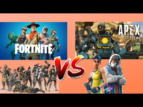 APEX LEGENDS VS FORTNITE | WHICH IS BETTER?