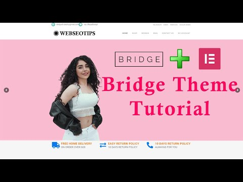 Bridge Theme Tutorial | bridge theme wordpress tutorial | bridge theme elementor