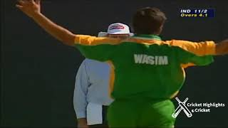 Pakistan vs India Sharjah Cup Final 1999
