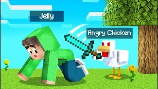 MINECRAFT But ANIMALS Are ANGRY! (Dangerous)