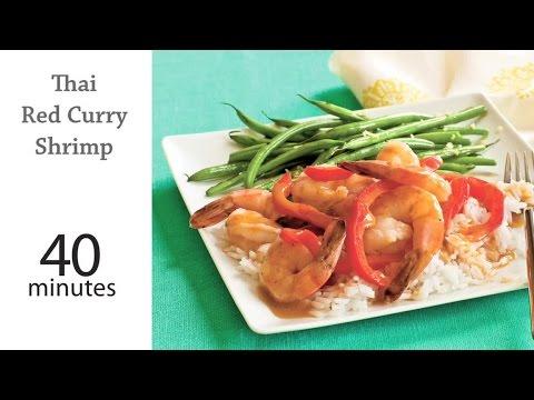 How to Make Thai Red Curry Shrimp