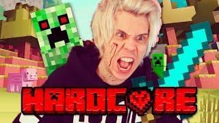 SI MUERO ACABA EL VIDEO | Minecraft Hardcore #1