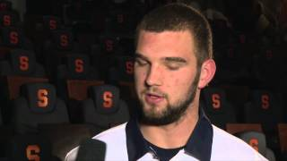Mitch Kimble On Playing Pitt - Syracuse Football