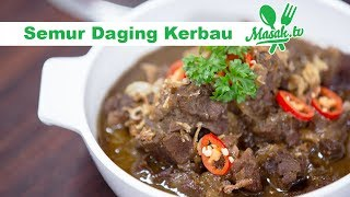 Cara Mengolah Semur Daging Kerbau Khas Jakarta