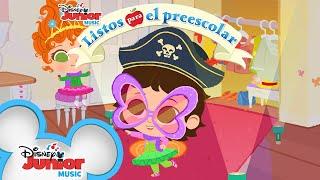 Vístete | Listos Para El Preescolar | Ready for Preschool | @Disney Junior
