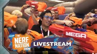 The NERF Nation Show w/ Zach King 💥 | LIVE at VidCon 2018