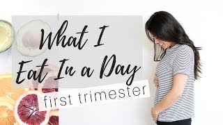 FIRST TRIMESTER FOOD AVERSIONS | WHAT I EAT IN A DAY