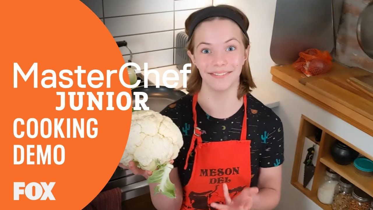 Cook #AtHomeWith Beni: Cauliflower & Couscous | MASTERCHEF JUNIOR