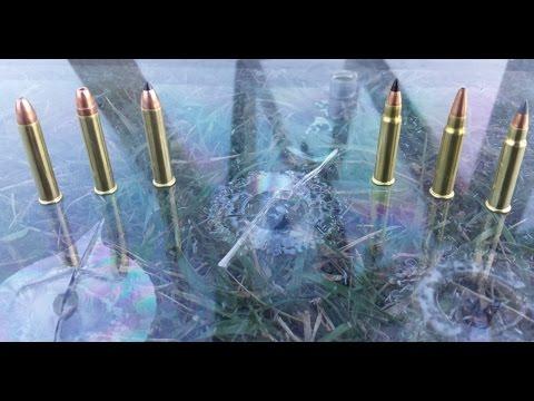 .22 MAG VS. .17 HMR VS. BULLETPROOF GLASS