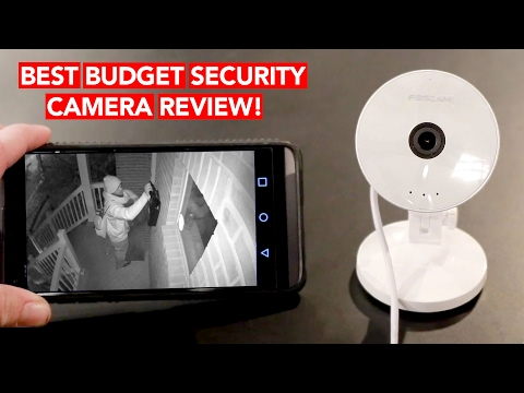 Best WiFi IP Security Camera Review (Under $30!!) – Works w/ iPhone & Android