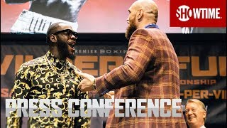 Wilder vs. Fury: Los Angeles Press Conference
