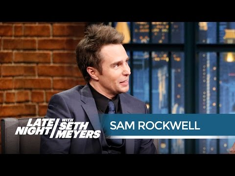 Sam Rockwell Once Interned for a Private Investigator - Late Night with Seth Meyers