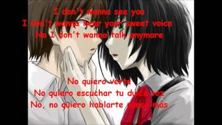I fell in love once (letra inglés - español)