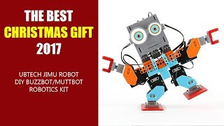 THE BEST CHRISTMAS GIFT 2017 - UBTECH Jimu Robot DIY Buzzbot/Muttbot Robotics Kit