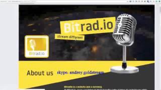 Как заработать без вложений, слушая музыку.  Bitradio