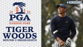 Tiger Woods Highlights: Big Cat limped home on Friday  | PGA Championship | CBS Sports HQ