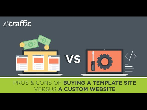 The Pros & Cons of Buying a Template Site