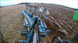 Ploughing With Deutz Fahr Agrostar 6 81 &amp Överum Xcelsior Cx 4975