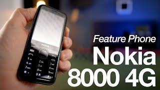 NOKIA 8000 4G - Doch mehr als ein Feature Phone? [mit Giveaway]