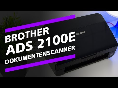 Ein Dokumentenscanner? Der Brother ADS-2100e Test.