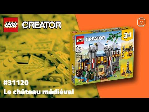 Vidéo LEGO Creator 31120 : Le château médiéval